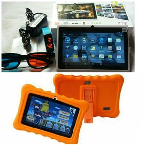 J Touch 2gb Ram 8gb Storage Eductional Children Tablet (Pre-Installed Apps Rhymes Cartoons Games)+ Free Gift- Orange Pouch