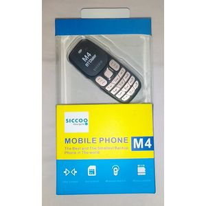 Siccoo M4 Mobile Mini Bluetooth Headset Phone-Black