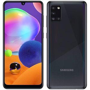 "Samsung Galaxy A31-(128GB+4) 6.4"" FHD + 4 Rear Camera (48+5+8+5)MP+ 20MP 5000mAh Dual SIM 4G LTE-Prism Crush Black"