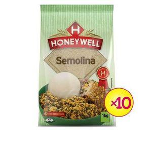 Honeywell Semolina 1kg (X 10 Packs)