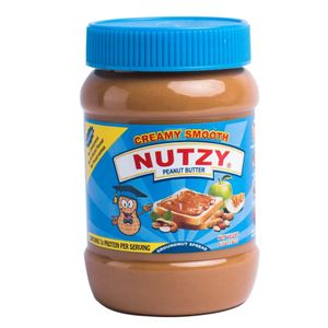Nutzy Creamy Smooth Peanut Butter - 510g