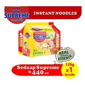 Sedaap Supreme Chicken Instant Noodles 120g - Bundle