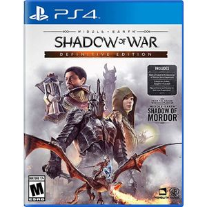WB Games Middle Earth: Shadow Of War Definitive Edition PS4