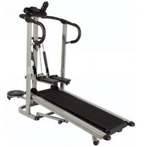 American Fitness Manual Treadmill With Twister And Stepper-3in1