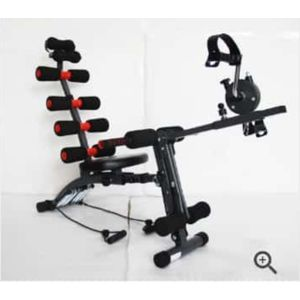 Six Pack Wonder Core Machine With Cycling Pedals