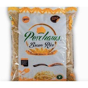 Perchams 100% Organic Brown Rice - 5kg