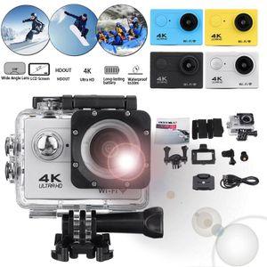 4K SJ9000 WiFi 1080P Ultra Action Sport Camera Waterproof DVR Camcorder Full HD NEW-Silver (silver)