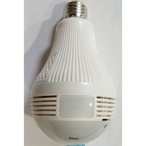 Wifi Panoramic Surveillance Security Bulb Camera