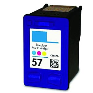 Ink Cartridge Replacement For HP 57 Ink Tri-color