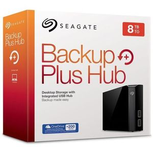 Seagate Backup Plus Hub 8 TB External Hard Drive Desktop HDD – USB 3.0 For Computer Desktop Workstation PC Laptop Mac 2 USB Ports 2 Months Adobe CC Photography
