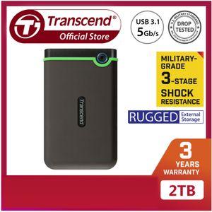 Transcend 2TB SJ25M3S External USB 3.1 Gen 1