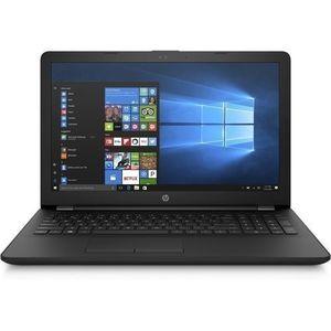"Hp Notebook - 15-bs061nia - Intel® Core™ I3 (2 GHz 3 MB Cache 2 Cores)32GB FlashMouse 15.6"" Diagonal HD Display 4GB SDRAM Intel® HD Graphics 520 1TB"
