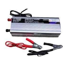 SUOER 1000 Watts 12V Solar Inverter With Built-in 10A Charger