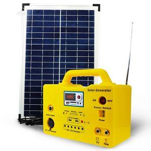Solar Kits With Six LED Bulbs USB Port