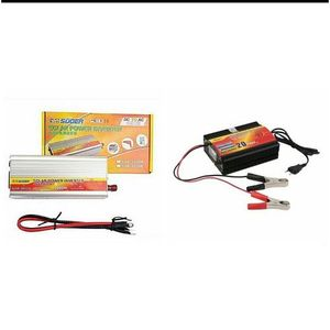 SUOER (2in1) 2000watts Inverter Anti-reverse Protection With 20amps External Charger 2000watts Inverter With Charger