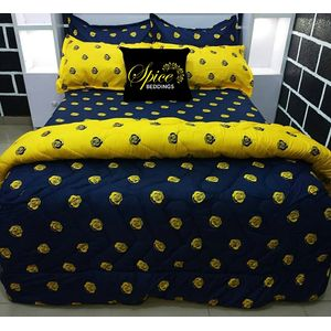 Spice Bedsheets Duvet Bedsheet Pillow Cases (Free Gift Inclusive)