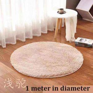 Flannel Center Rug 1 Meter In Diameter