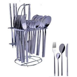 Stainless Steel 24piece Cutlery Set (USA)