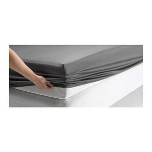 Fitted Sheet Mattress Protector-GRAY