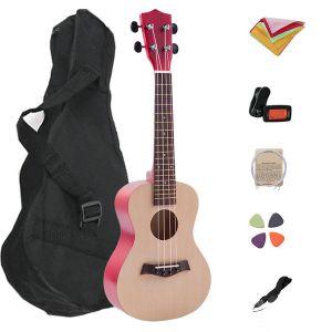 21 Inch Professional Hawaii Style Basswood 4 Strings Ukel