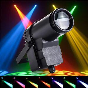30W RGBW LED DMX512 Stage Lighting Pinspot Beam Spotlight 6CH DJ DISCO Party KTV EU