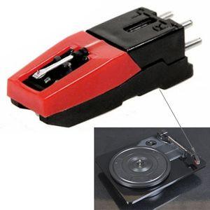 Stereo Stylus Needle For Vinyl LP USB Turntable Turnplate(Black)