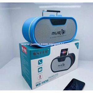 Wster Bluetooth Wireless Speaker Support USB/TF CARD/FM RADIO