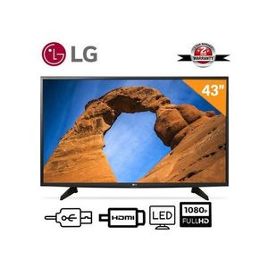 LG 43-Inch Full HD LED TV + Wall Hanger {2 Year Warranty}