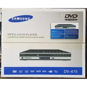Samsung SAMSUNG DVD PLAYER DV-670 WITH USB PORT BLACK