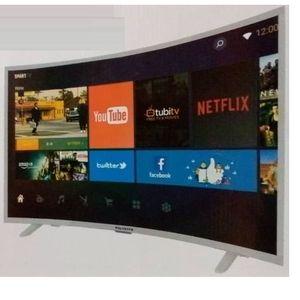 "Polystar 32"" INCH SMART CURVED TV With Netflix (1year Warranty)"