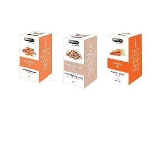 Hemani Essential Kit- Turmeric Sandalwood & Carrot Oil