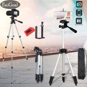 EsoGoal Camera Tripod Lightweight With Tripod Carry Case