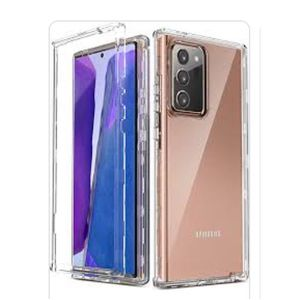 Samsung Note 20 Ultra 360 Front And Back Transparent Case