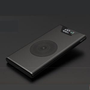 Gd Ultra-thin Portable Power Bank-Black